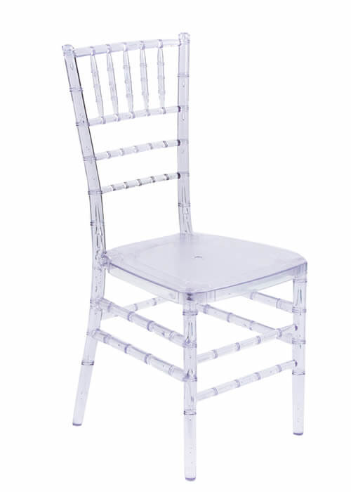 clear chiavari chair for rent