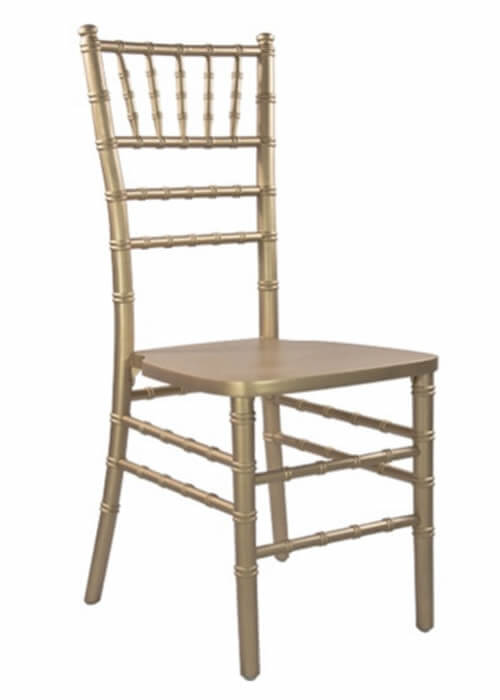 gold chiavari chair for rent