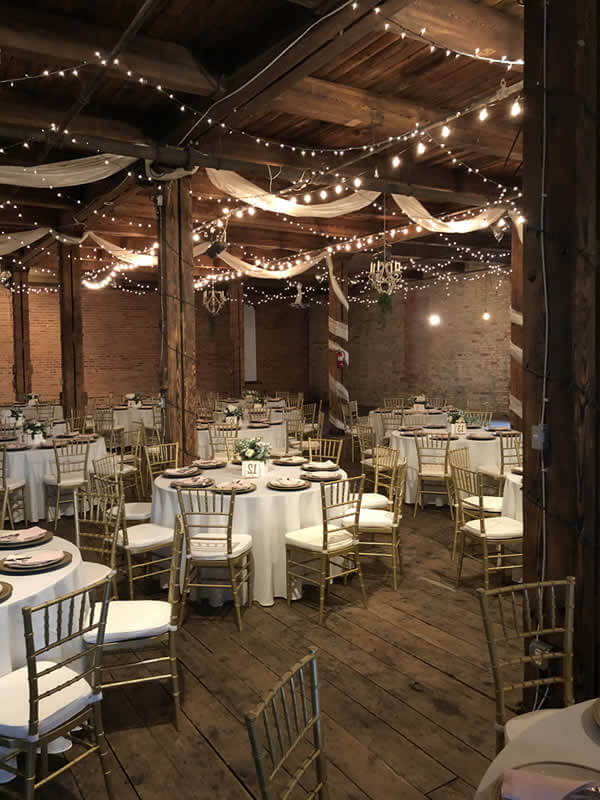 rustic wedding theme in michigan