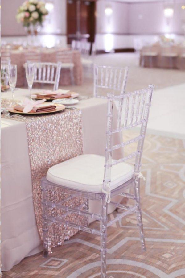 Great Lakes Chiavari - Cushioned Clear Chiavari Chair